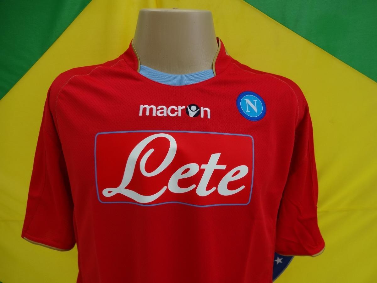 camisa de futebol napoli da itália oficial nova macron 09 10. Carregando  zoom. 7e33fe184a8da