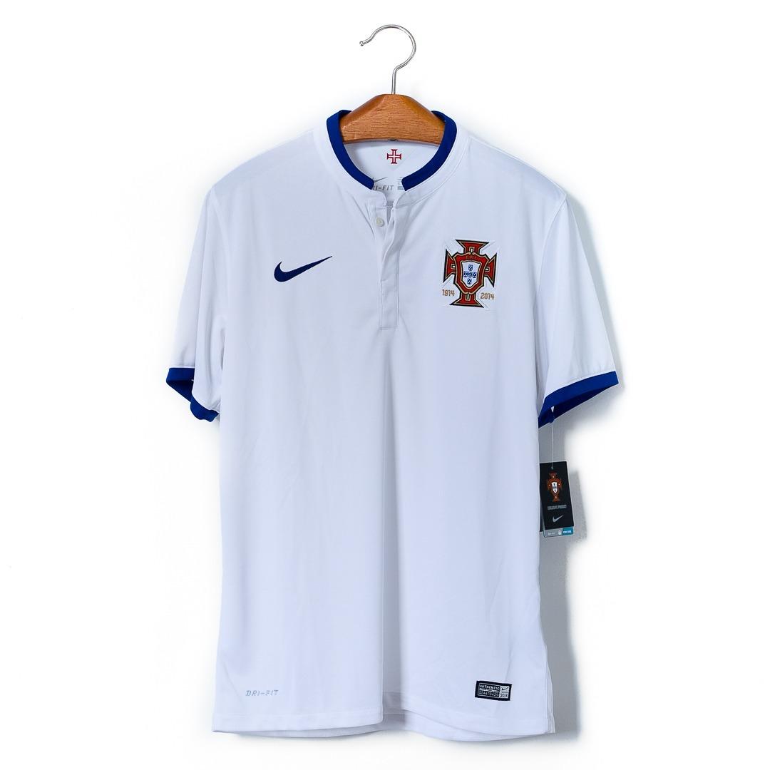 camisa de futebol original da seleção de portugal 2014 nike. Carregando zoom . b64eafc1bc6c8