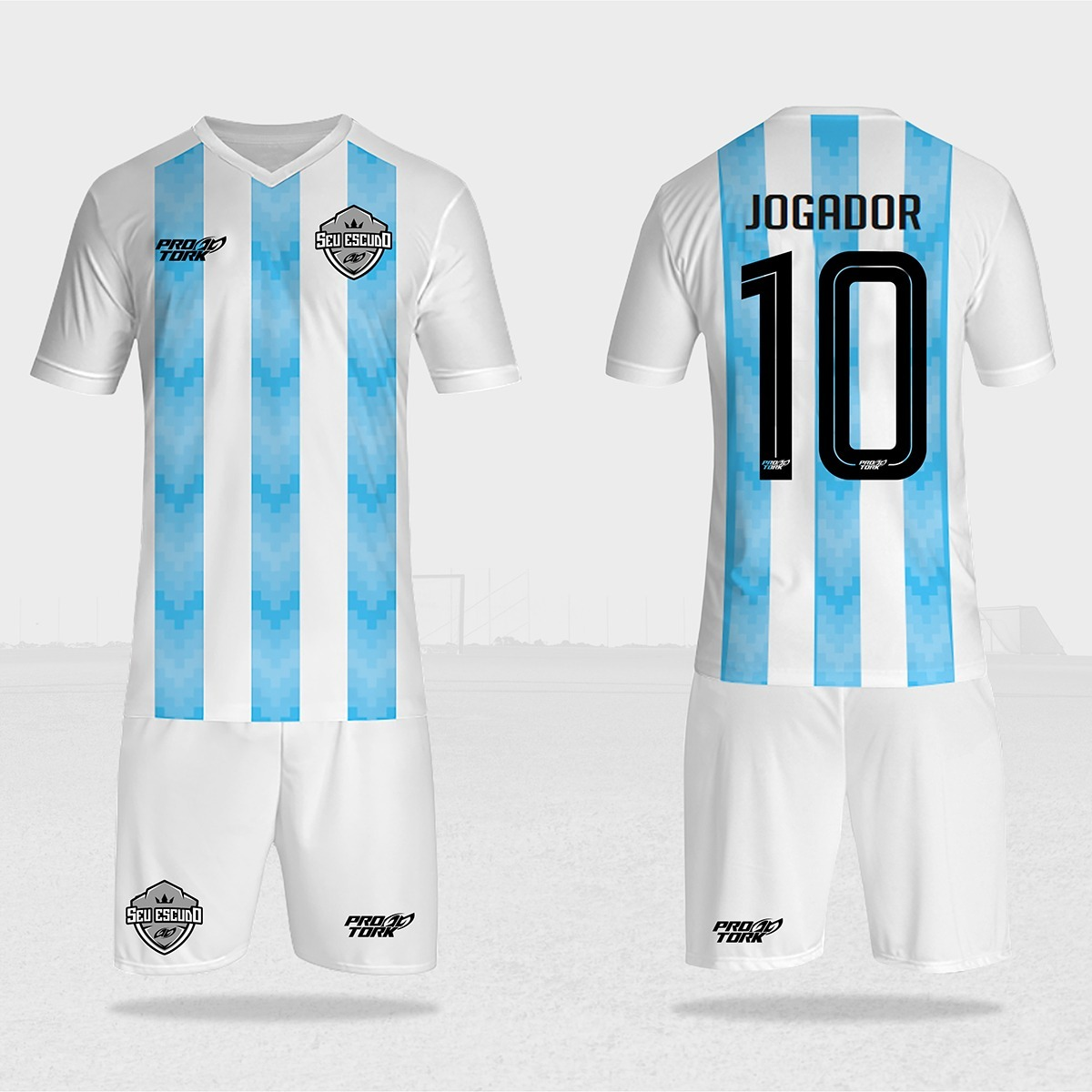 0b03dd3ed camisa de futebol ou futsal personalizada 10un. Carregando zoom.