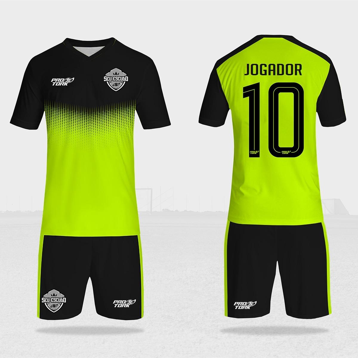 a0965a98b Camisa De Futebol Ou Futsal Personalizada 22un - R  770