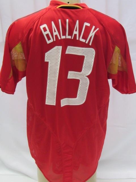 Camisa De Futebol Seleção Alemanha 2005 - adidas  13 Ballack - R ... 29bd2cf38dac3