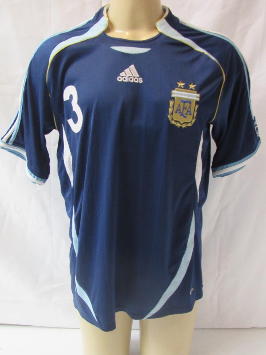 fa21b0db3c camisa de futebol seleção argentina adidas 2006  3 sorin. Carregando zoom.