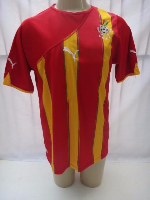 Camisa De Futebol Seleção De Gana Modelo Copa 2010 Puma - R  139 20c7f165701c0
