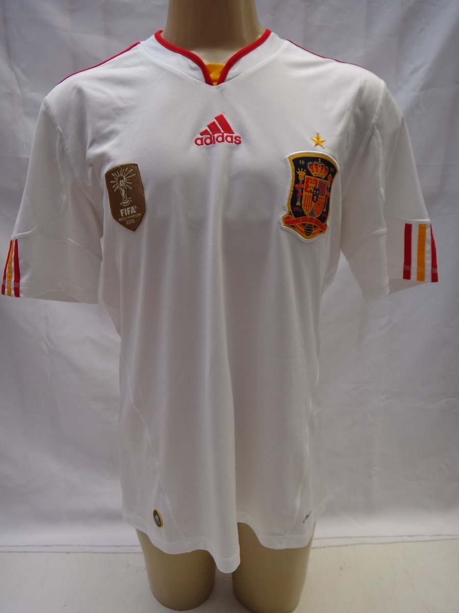 ab721fd2a6 camisa de futebol seleção espanha 2011 2012 adidas away g. Carregando zoom.