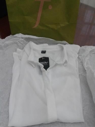 camisa de gasa