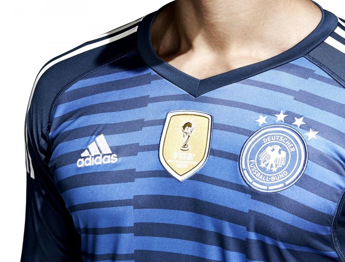 Camisa De Goleiro adidas Alemanha 2018 Br7831  e8405f17df4d8