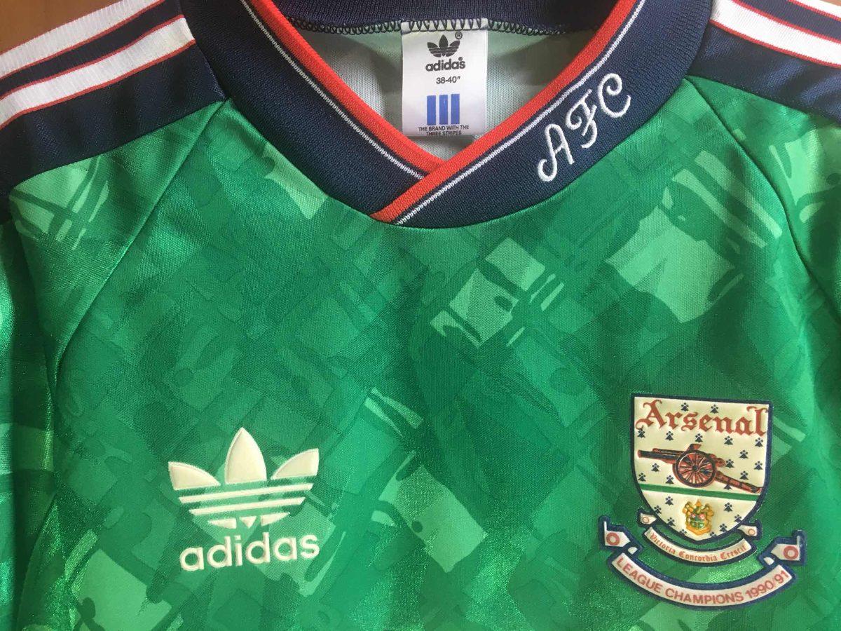camisa de goleiro arsenal made in uk - perfeito estado. Carregando zoom. a98462ed42954