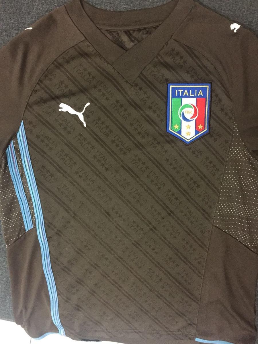 39e2af4355646 Camisa De Goleiro - Itália - Buffon - Original Puma - R  160