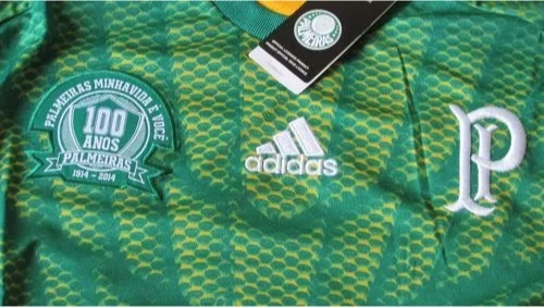 Camisa De Goleiro Manga Longa adidas Palmeiras 1914 Tam Gg - R  260 ... 8032a4620acc7