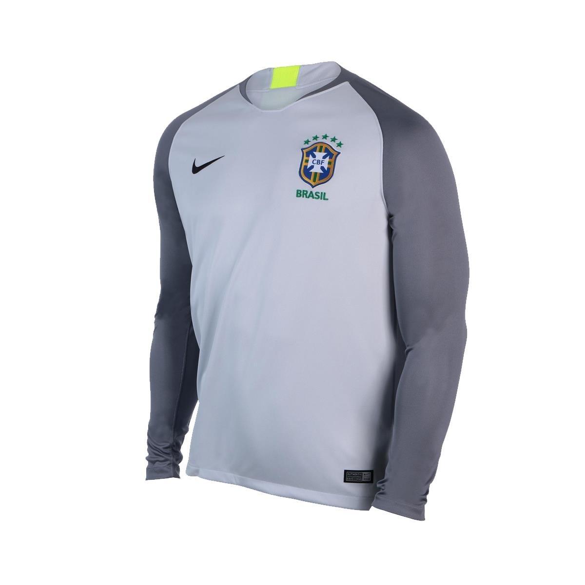 beefbdf6d3 camisa de goleiro nike brasil 2018 19 torcedor masculina gg. Carregando  zoom.