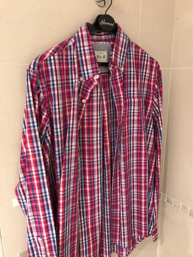 camisa de hombre a cuadros de felix talle m