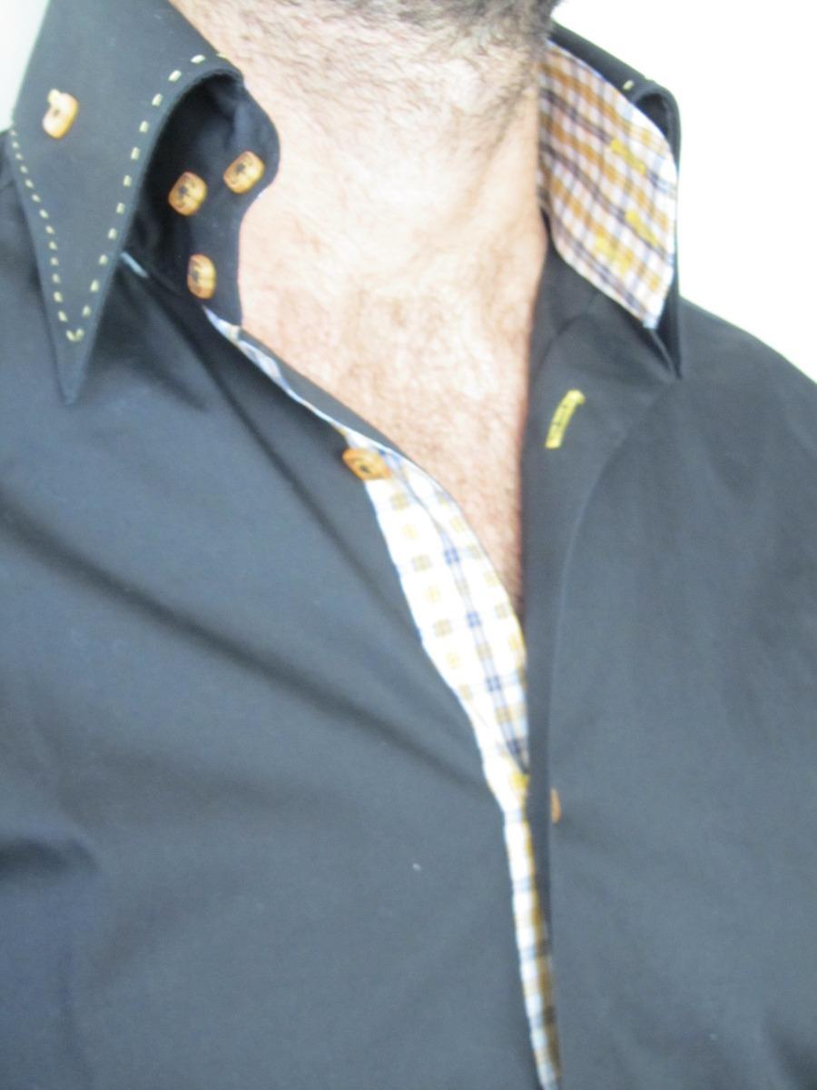 Hombre Talle importada Brio Italiana De N S Camisa Y 599 R5wqCPx45