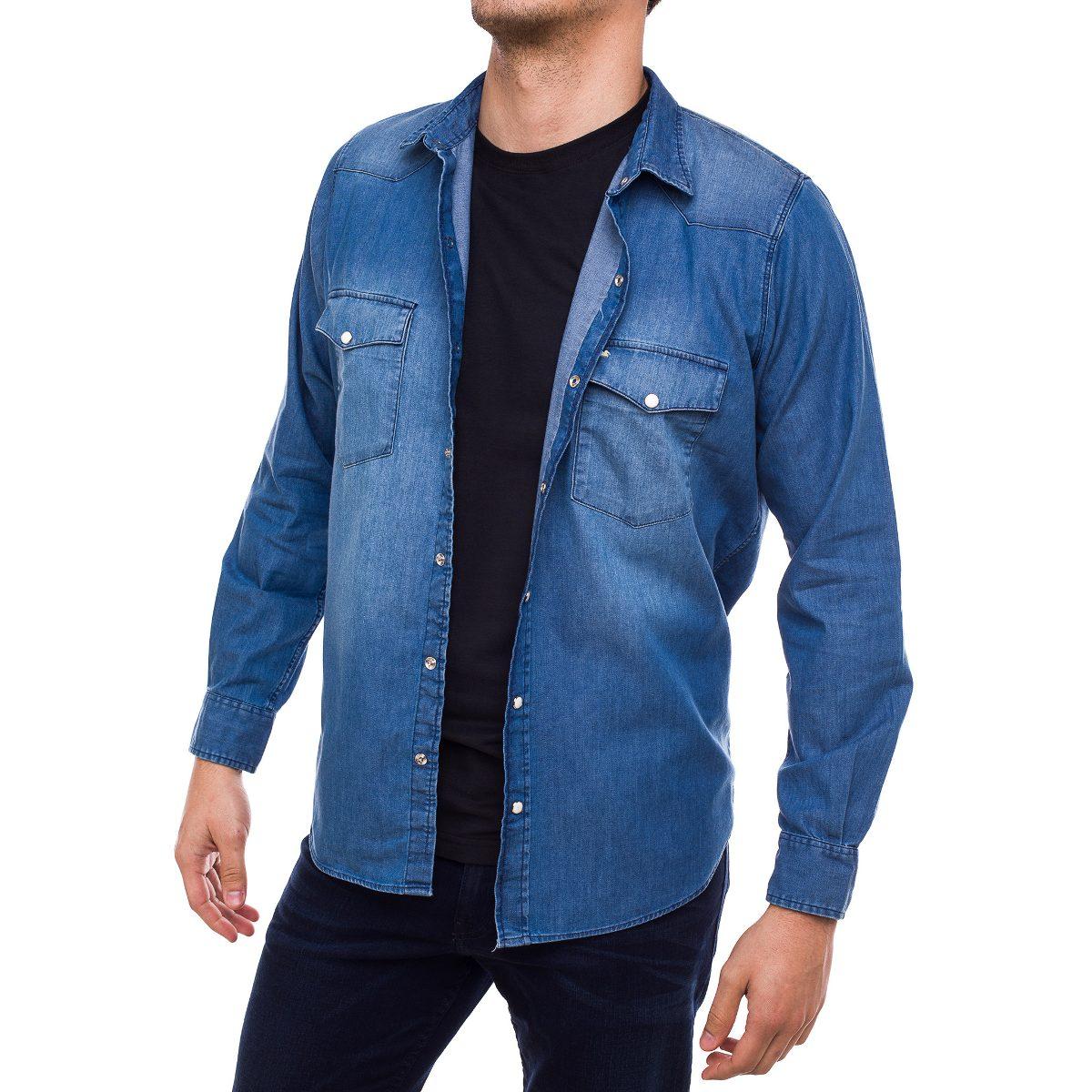 6f7b200f6308c camisa de jean hombre pato pampa celeste. Cargando zoom.
