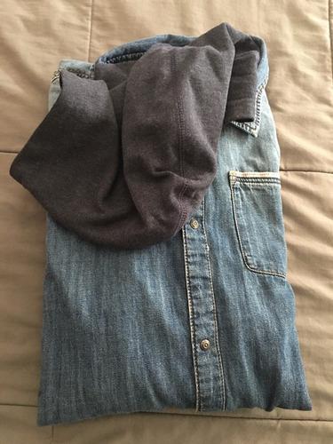 camisa de jean hym