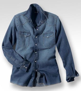 camisa de jean talles especiales del xl al  xxxxxl, chupin