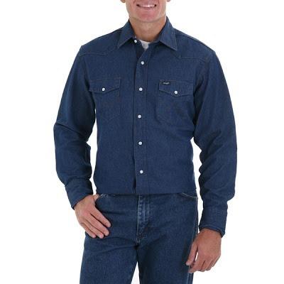 camisa de jean x 20 unidades oferta