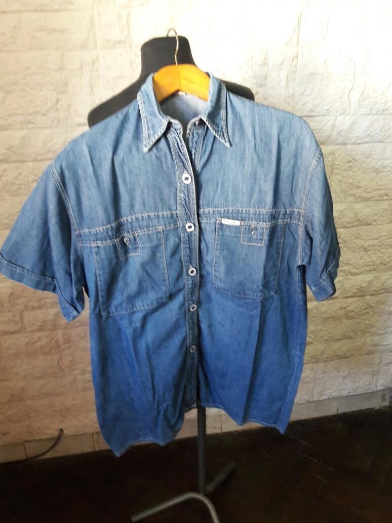Talle M Jeans De 00 Camisa Amplio130 Hombre BWxerdCo
