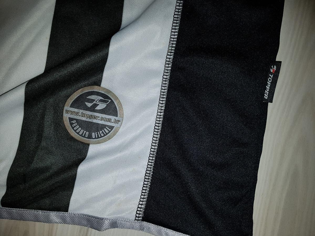 camisa de jogo botafogo 2001 tam topper patch fifa. Carregando zoom. 73eae4a818ab2