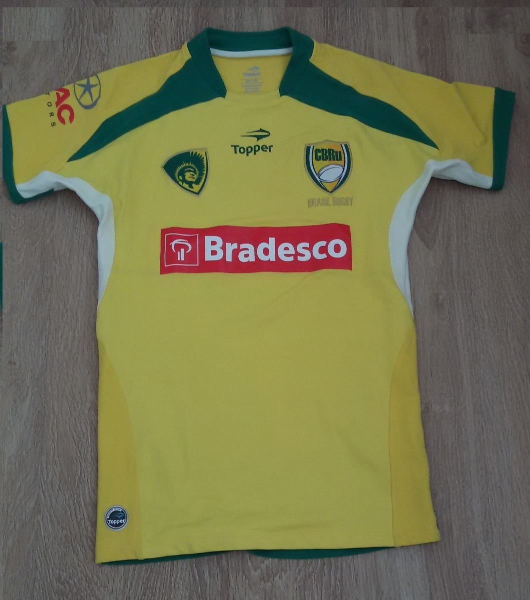 195d2f098c Camisa De Jogo Da Seleção Brasileira De Rugby - Original - R  299