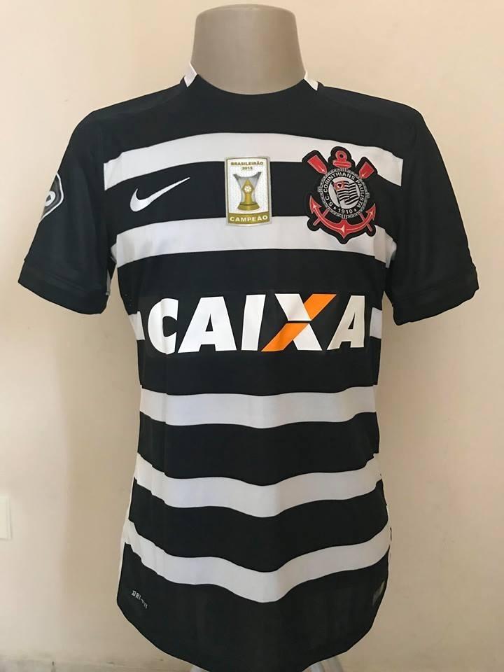 4a829c5f6e24f camisa de jogo do corinthians de 2016. Carregando zoom.
