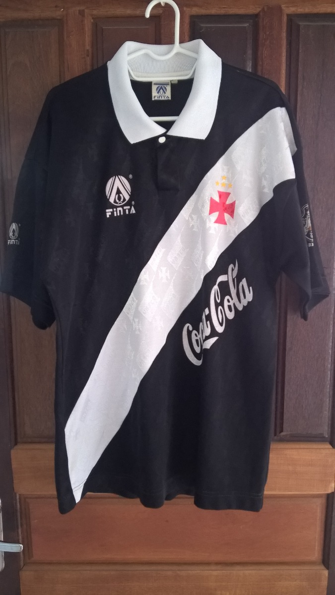 b8233bcf6bcd2 camisa de jogo do vasco - finta 1994 coca cola   7. Carregando zoom.