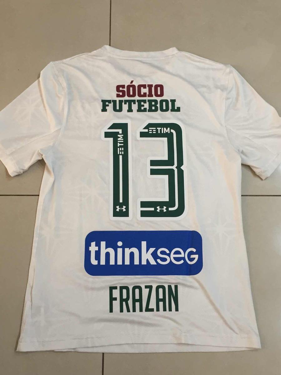 53daa00c4ae Camisa De Jogo Fluminense Branca! N  13 Frazan! - R  349