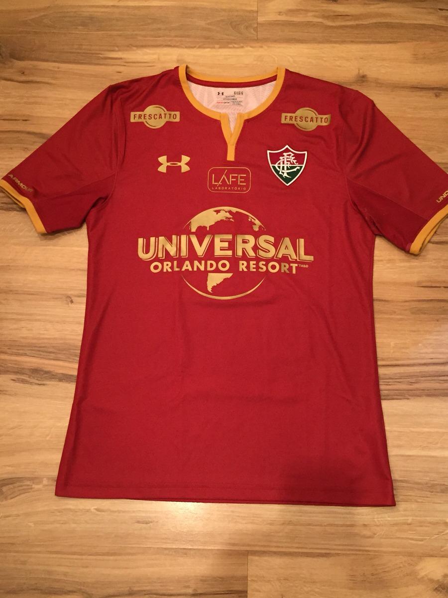 d3a4cf2828472 Camisa De Jogo Fluminense Grená! Flu X Bahia - R  449