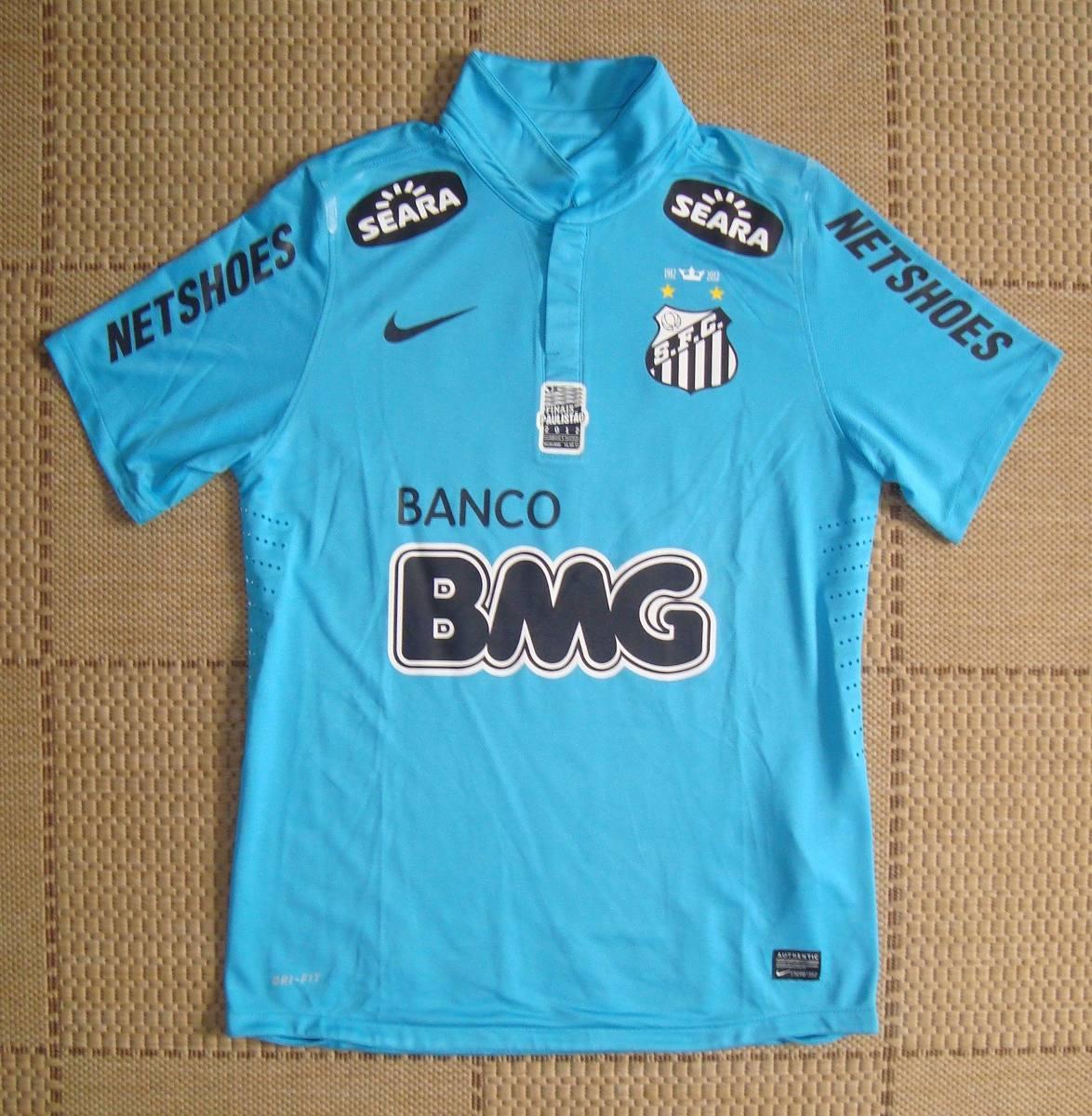 Camisa De Jogo Santos 2012 Final Do Paulistão Vs Guarani - R  800 76c7b827a2991