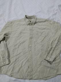 d77a51e9e3 Camisa De Lino L.l.bean Talla 2xl Color Beige(moda