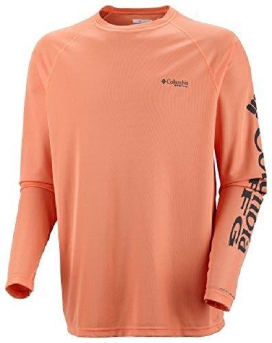 camisa de mangas largas columbia equipo de pesca para hombre