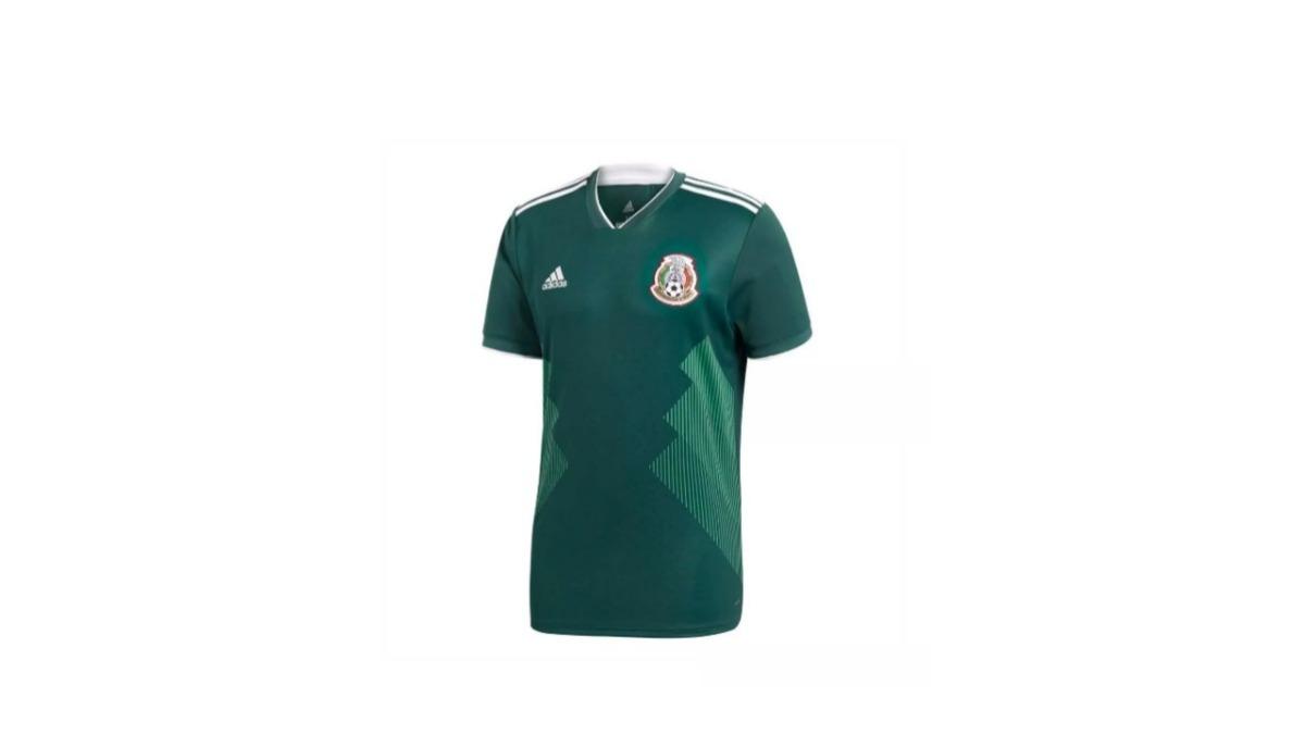 Camisa De México Seleccion Versión Jugador 2018 -   799.00 en ... 9ad26f45569c9