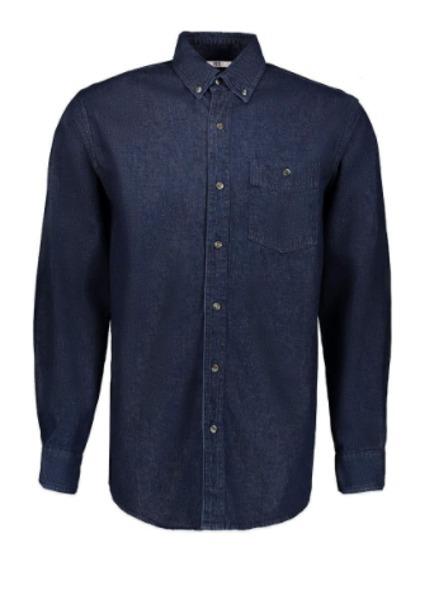 Camisa De Mezclilla Industrial Ferruche De Botones -   348.00 en ... 1b5f9c52337e3