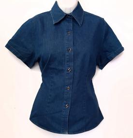 8c778b1814ff Camisa De Mezclilla Para Dama Extra Grande