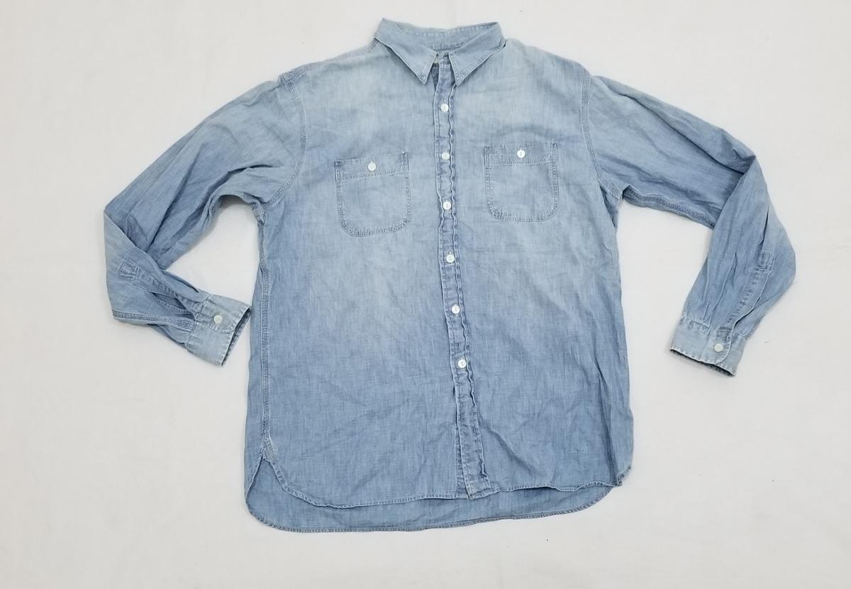 camisa de mezclilla polo ralph lauren, grande, azul cielo. Cargando zoom. 716142a5098