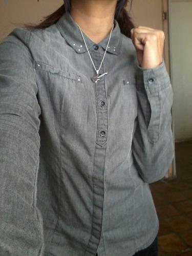 camisa de mezqulilla para dama
