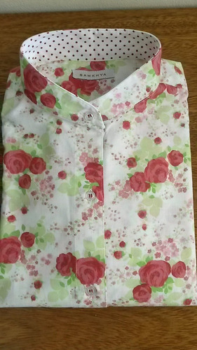 camisa de mujer mangas 3/4, entalladas, hermosas!!