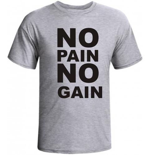 camisa de musculação no pain no gain