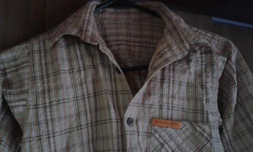 camisa de niño, impecable.