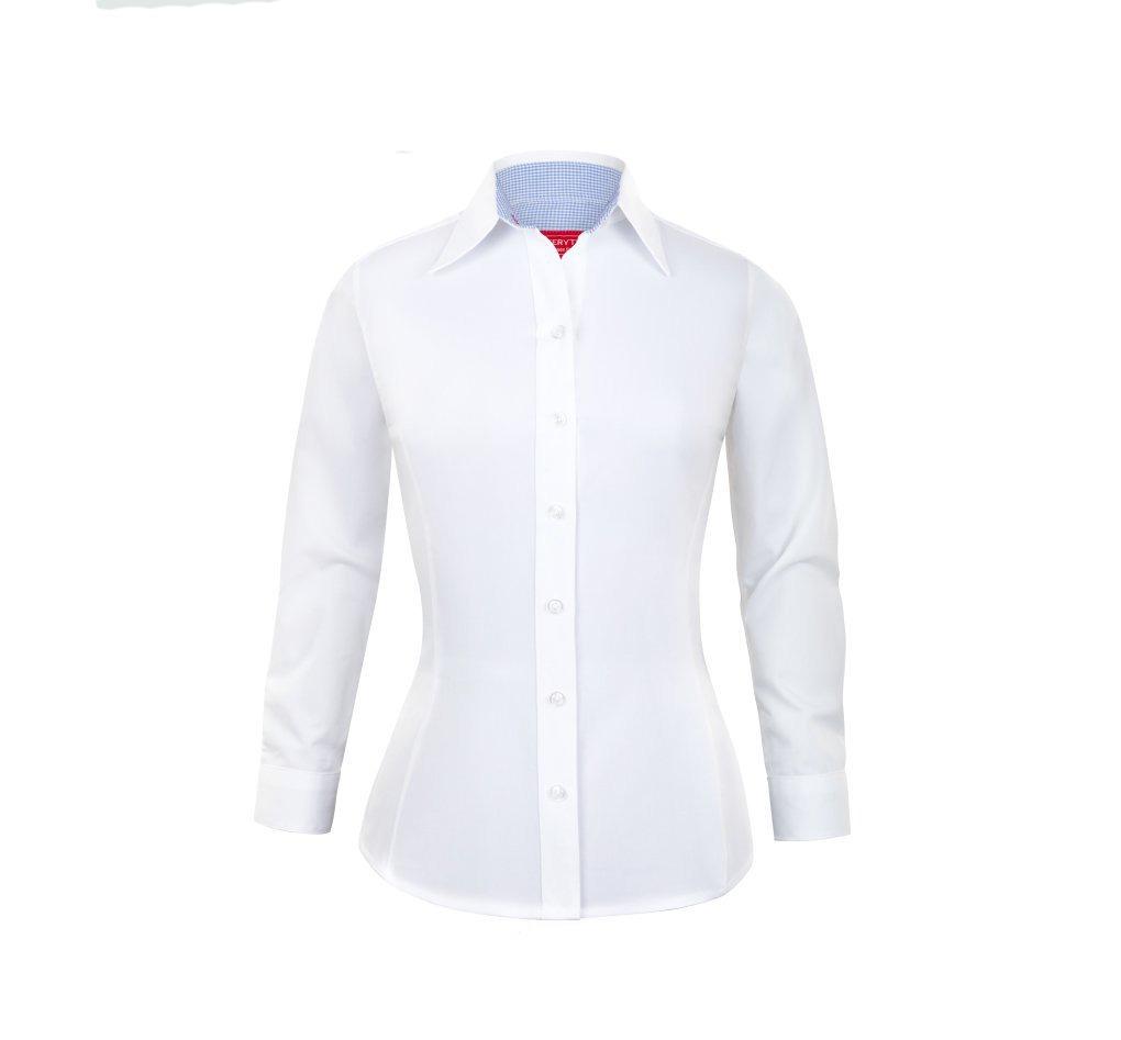5f006addf111 Camisa De Oficina (trabajo) Manga Larga Para Mujer 3xl - 4xl