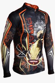 310a5fe147020f Camisa De Pesca Brk Pirarara Camo Com Fps 50+