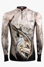 0f24a761c3ece2 Camisa De Pesca Brk Xaréu Fishing Com Fps 50+
