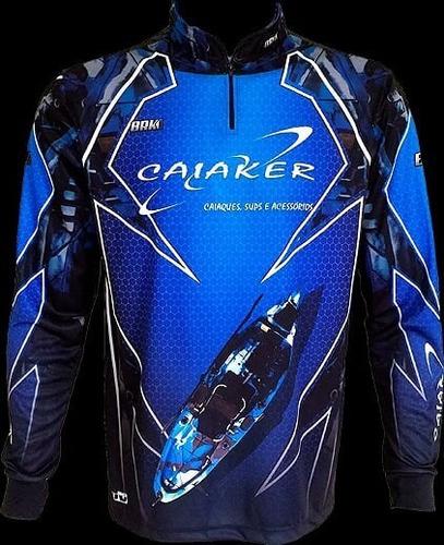 camisa de pesca caiaker marlim brk uv 50