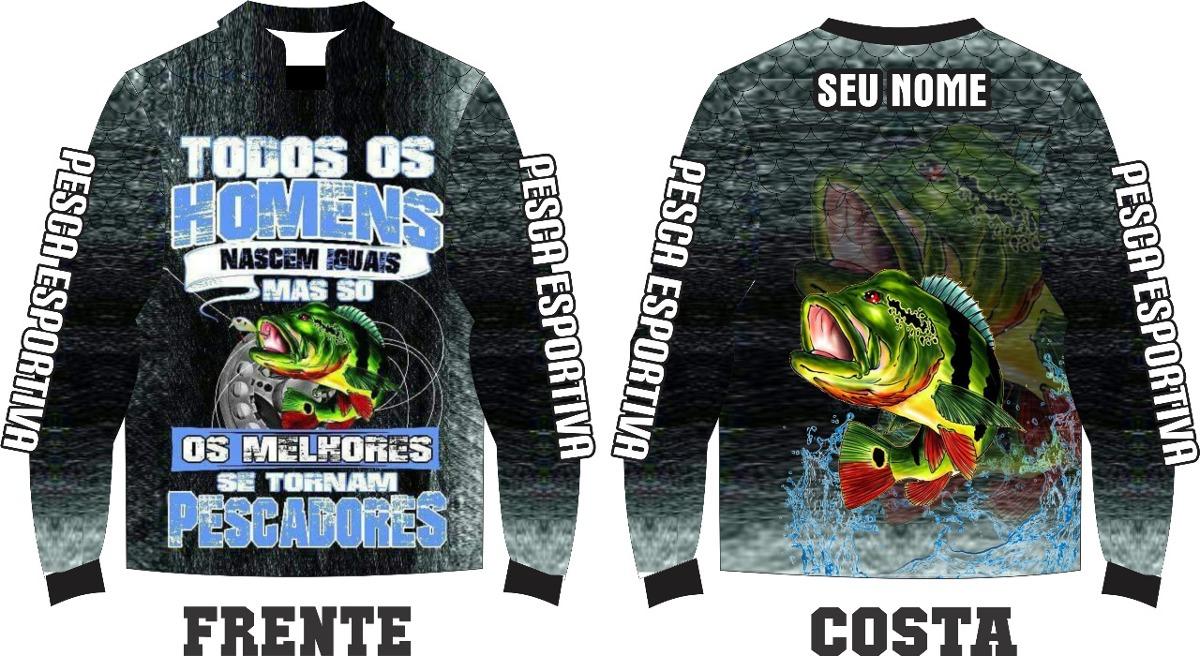 camisa de pesca esportiva personalizada r.05. Carregando zoom. 3b69dac30ce41