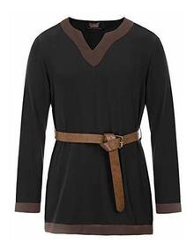 Para Medieval Vikingo Pirata Camisa HombreEstilo De CeWxdBEQro