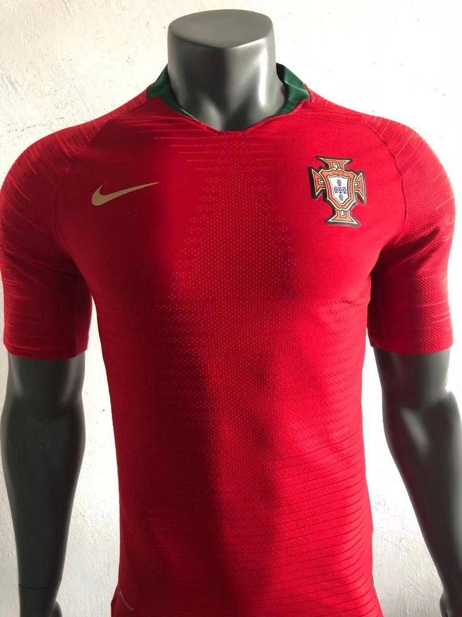 dd814e3e863f2 camisa de portugal versão jogador copa 2018 fotos reais. Carregando zoom.