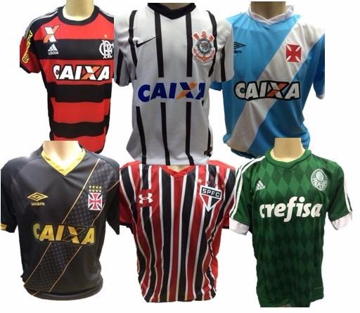 31e696ded7 Camisa De Time Atacado - Camiseta Time Atacado Futebol - R  39
