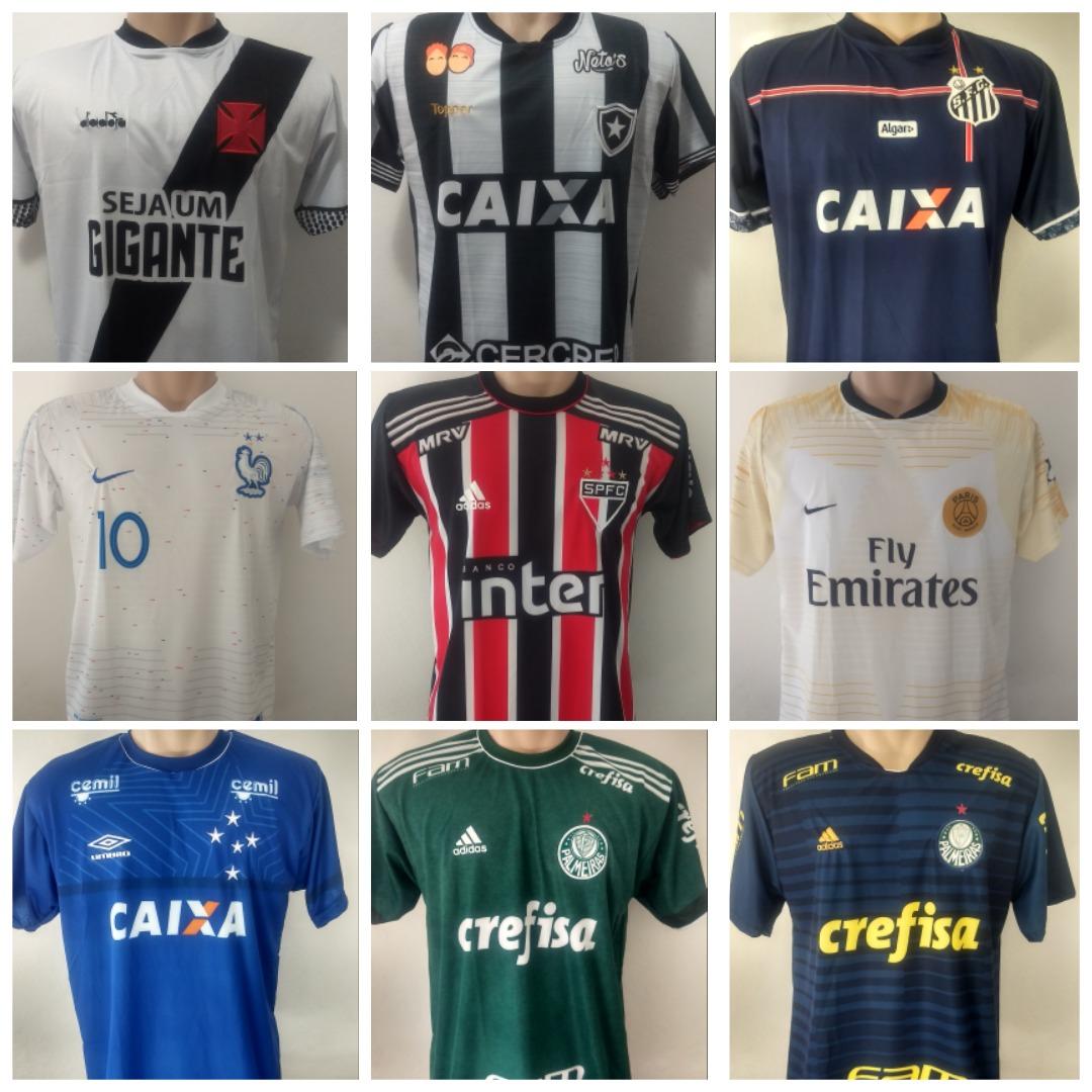 15ca2c1333 Camisa De Time De Futebol 2018 P/ Revenda - R$ 189,90 em Mercado Livre
