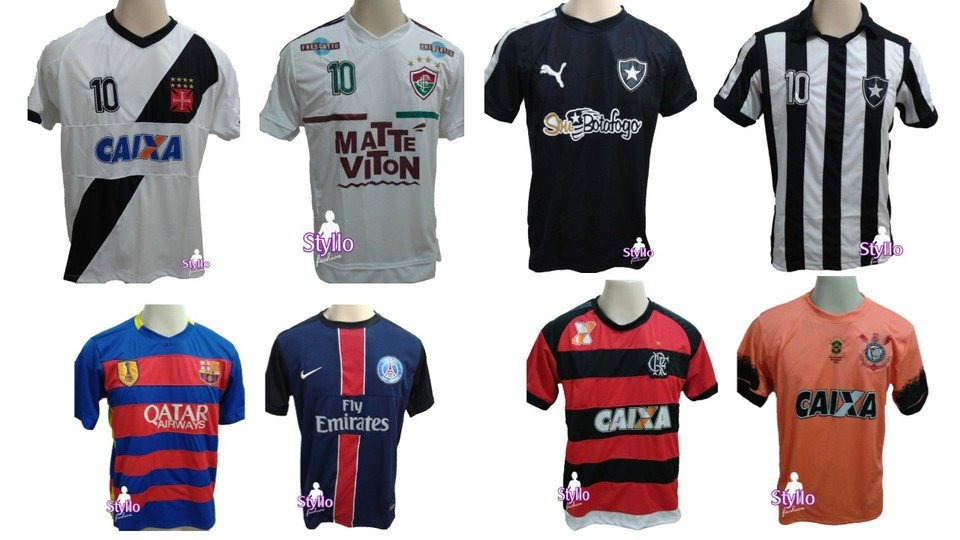 Camisa De Time De Futebol - R  22 2609a23d747ba