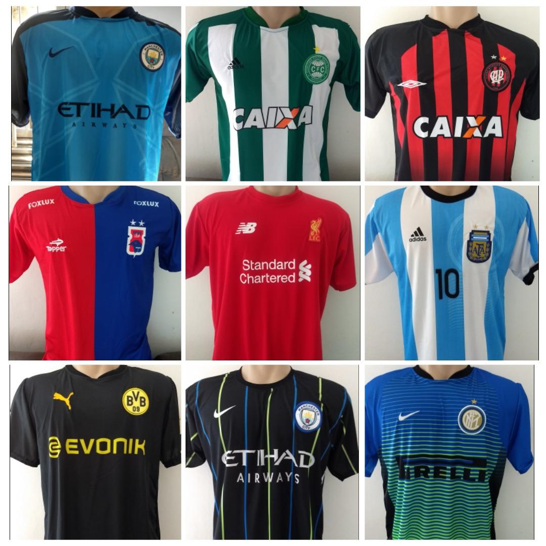 7a8eca499d Camisa De Time Futebol Atacado Revenda E Ganhe   - R  189