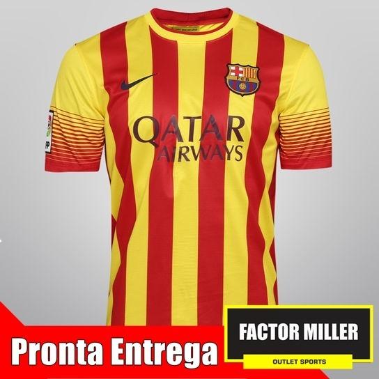 6a2cb00014 Camisa De Time Original Barcelona Away 15 16 - R  89
